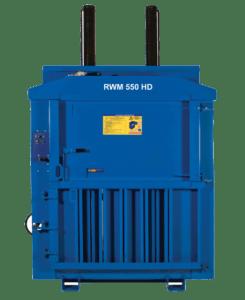 RWM550 heavy duty waste baler from Riverside Waste Machinery