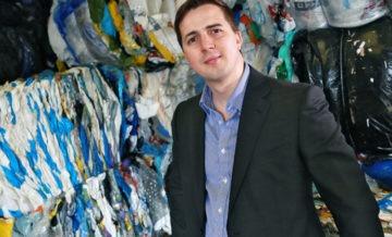 Riverside Waste Machinery's MD Jonathan Oldfield