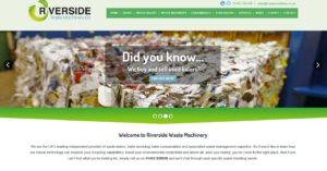 Riverside waste baler website
