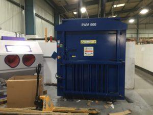 Mellor Electrics waste baler