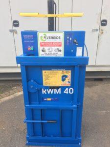 Compact waste baler - baler hire
