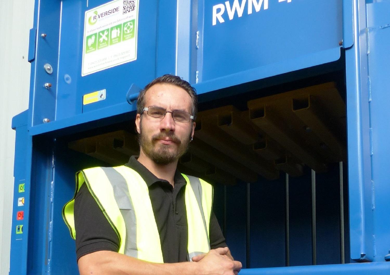 New service engineer joins Riverside's waste baler team